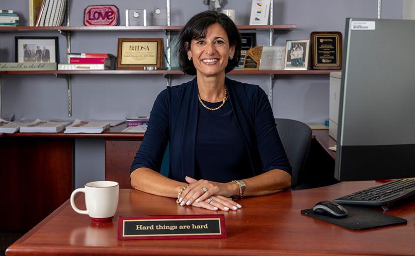 MGH infectious disease head Rochelle Walensky to head CDC