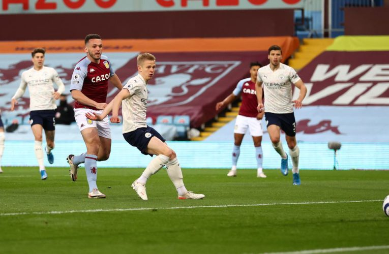 Aston Villa 1-2 Man City: Full Review & Highlights