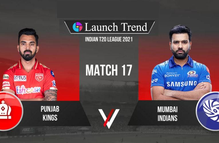 IPL 2021 MI vs PBKS: PBKS Won By 9 Wickets
