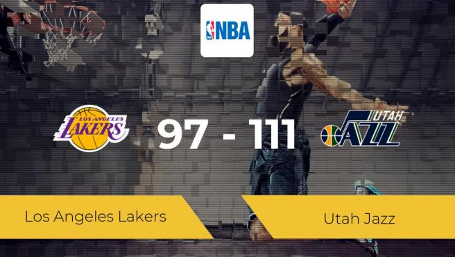 Lakers 97-111 Jazz: Full Match Review