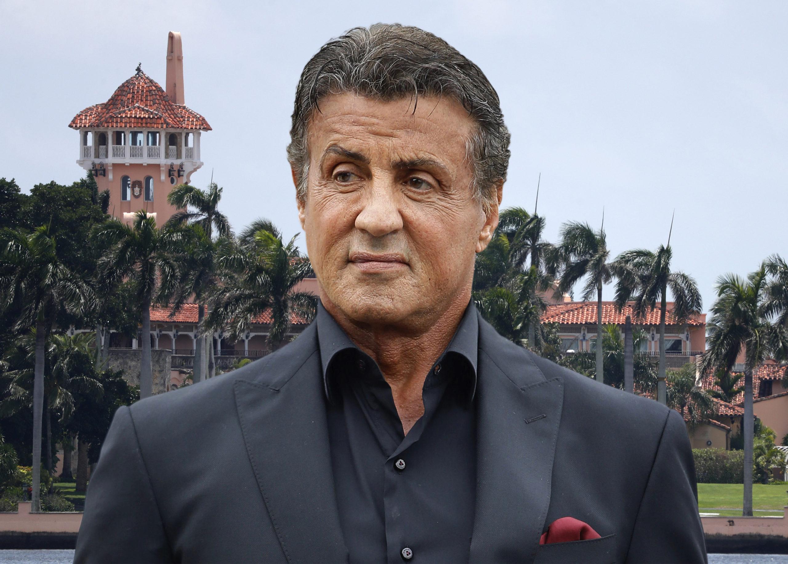 Sylvester Stallone Not A Member Of Mar-a-Lago-LT